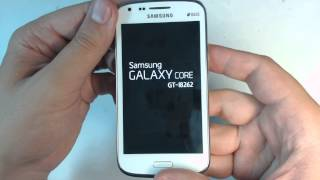Samsung Galaxy Core I8262 hard reset