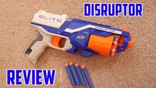 getlinkyoutube.com-Nerf N-Strike Elite Disruptor Unboxing, Review & Range Test