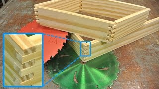 getlinkyoutube.com-Box joints WITHOUT buying a dado set (make one)