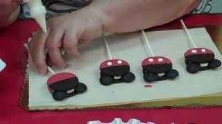 How to make Mickey Mouse Cookie Pops