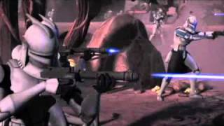 getlinkyoutube.com-Clone Wars - Clone Troopers 10th man down