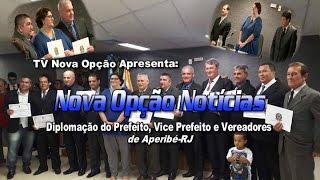 Diplomação de Prefeito, Vice e Vereadores Aperibé-RJ