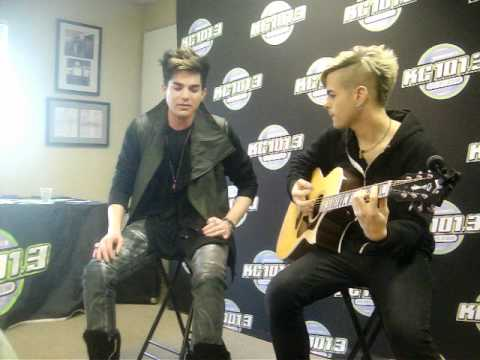 adam lambert signing what do you want from me