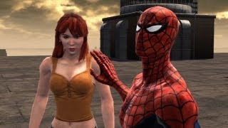 getlinkyoutube.com-Spider-Man: Web of Shadows - Good Ending - Final Showdown: Spider-Man Vs. Venom