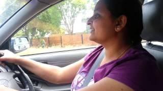 ISH's Mom Driving Car