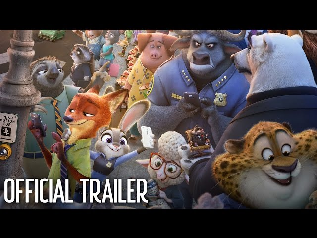 Zootopia Official Trailer