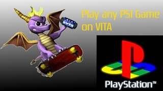 How To Install Any PS1 Game On PS Vita