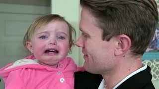 Baby Reacts to Dad Shaving Beard Compilation