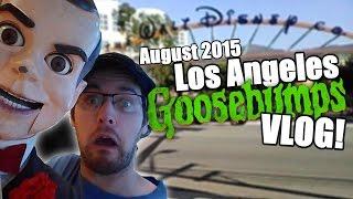 getlinkyoutube.com-August 2015 Los Angeles Goosebumps Vlog!