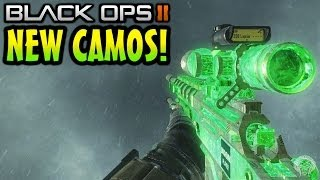 Black Ops 2: All 4 New Camos! Weaponized 115, Beast, Dead Mans Hand & Octane Personalisation Packs