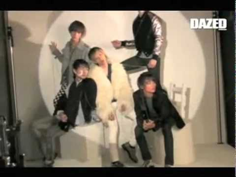 Jonghyun at DAZED&amp;CONFUSED Shooting, January 2010