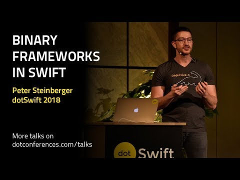 Binary Frameworks in Swift
