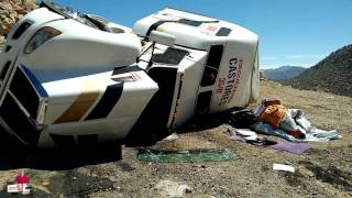 getlinkyoutube.com-Un Castor accidentado en la Rumorosa BajaCalifornia