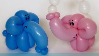 Слоненок из шарика / one balloon Elephant calf (Subtitles)