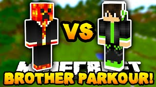 getlinkyoutube.com-Minecraft PARKOUR with MY LITTLE BROTHER! - w/PrestonPlayz & Caleb