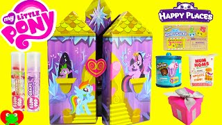 getlinkyoutube.com-My Little Pony Twilight Sparkle Castle Jewelry Box with Shopkins Happy Places and Surprises