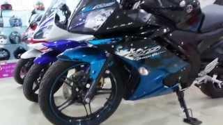 getlinkyoutube.com-Yamaha FZ, FZS and R15  2015 colors HD