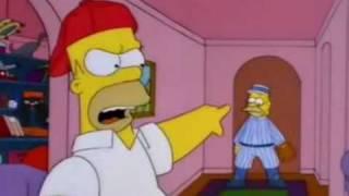 """getlinkyoutube.com-Los Simpsons """"cuando un hijo no quiere jugar beis con su padre hay algo muy grave"""""""