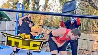 getlinkyoutube.com-CRAZIEST TLC LADDER MATCH ON YOUTUBE EVER FOR THE GTS U.S. CHAMPIONSHIP!
