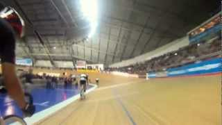 getlinkyoutube.com-Cycling with Olympic stars in the velodrome