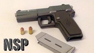 Making of PM NSP Papercraft gun - Build Review.