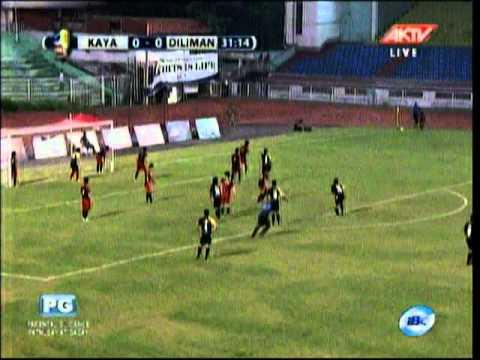 Kaya FC 1 - 0 Diliman FC Part 1 UFL Cup Oct. 9 Rizal