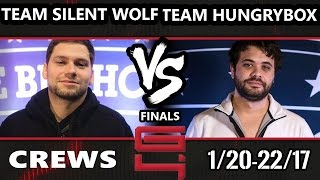 Genesis 4 SSBM - Team Silent Wolf Vs. Team Hungrybox - Smash Melee Draft Crews Finals