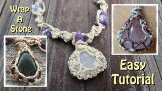 getlinkyoutube.com-How To Wrap A Stone With String