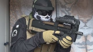 (Airsoft) P90 Marui Custom / P90 load out / P90 tactical reload