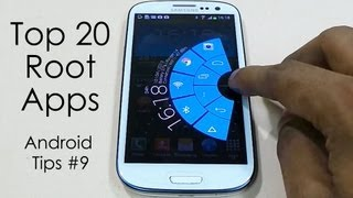 """getlinkyoutube.com-Top 20 """"Must Have"""" Root Apps for Rooted Android Devices - Part 1 - 2013 - Android Tips #9"""