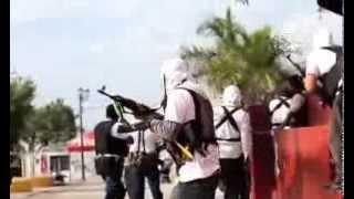 Captan enfrentamiento de autodefensas en toma de Nueva Italia