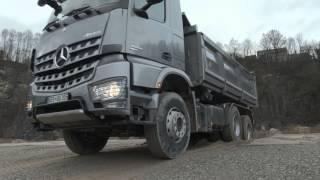 getlinkyoutube.com-LKW Offroad Training (2013) mit dem neuen Mercedes-Benz Arocs