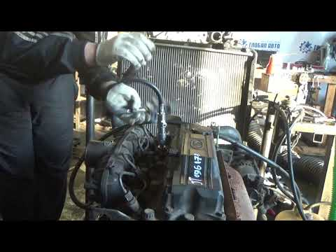 Проверка компрессии в двигателе JT 096177 Bongo, Pregio, Frontier