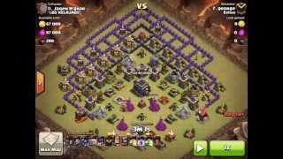getlinkyoutube.com-Eelius 3 star war attacks #40. TH9, GoWiWiPe against famous southern teaser by George