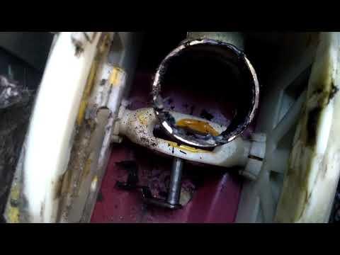 Отчёт о снятии ручки КПП Chevrolet Rezzo
