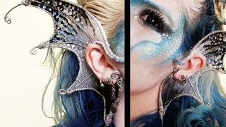getlinkyoutube.com-DIY | Wire Mermaid Ears