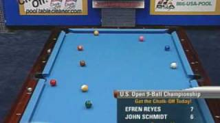 getlinkyoutube.com-Billiards US Open 9-Ball Championship: Efren Reyes v Schmidt