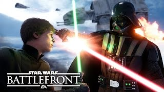 "getlinkyoutube.com-Star Wars Battlefront: Multiplayer Gameplay | E3 2015 ""Walker Assault"" on Hoth"