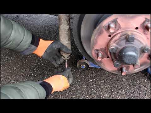 Исправление ошибки установки втулок заднего амортизатора на Land Rover Defender Ленд Ровер Дефендер