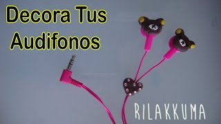 getlinkyoutube.com-Decora tus Audifonos | como decorar tus audifonos