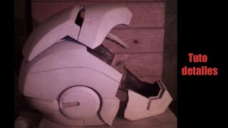 getlinkyoutube.com-Cómo masillar casco de iron man