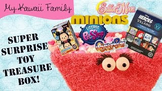 getlinkyoutube.com-Super Surprise TOY Treasure Box Ep 10! Minions, Sailor Moon, Japanese Chocolate Eggs