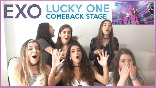 EXO - LUCKY ONE (SHOW MUSIC CORE COMEBACK STAGE) REACTION