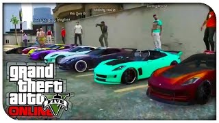 getlinkyoutube.com-GTA 5 Online - CAR SHOWCASE #1 (Coquette) [GTA V]