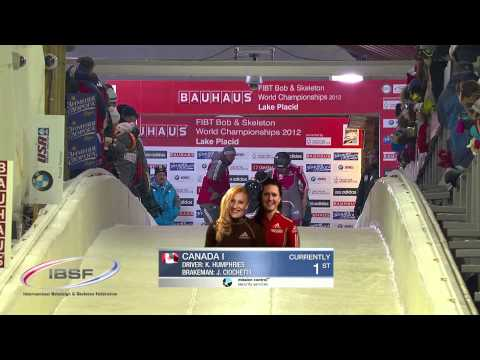 World Championships Women Bobsleigh 2012 Lake Placid