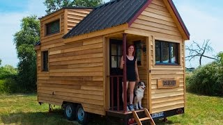 getlinkyoutube.com-La Tiny house Baluchon - Présentation