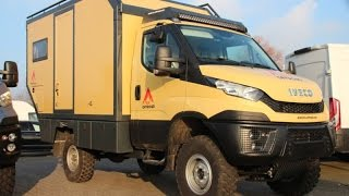 getlinkyoutube.com-Nice Campers 4x4. Globetrotter. Iveco daily 4x4.