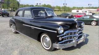 getlinkyoutube.com-1949 Dodge Coronet Gyro-Matic Start Up, Exhaust, and In Depth Tour