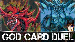 getlinkyoutube.com-Yugioh Kaiba vs Yugi Character Duel Slifer vs Obelisk