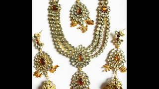 getlinkyoutube.com-Stunning collection Indian Kundan jewelry